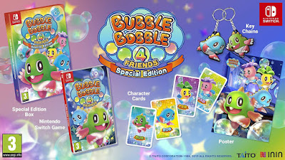 Edición física de Bubble Bobble 4 Friends para Switch