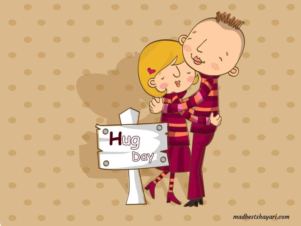 Hug Day Wishing Images 2019