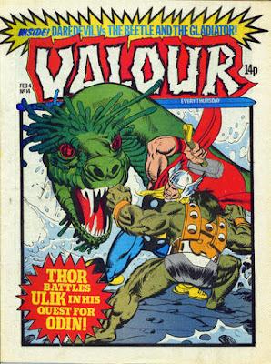 Valour #14, Thor vs Ulik