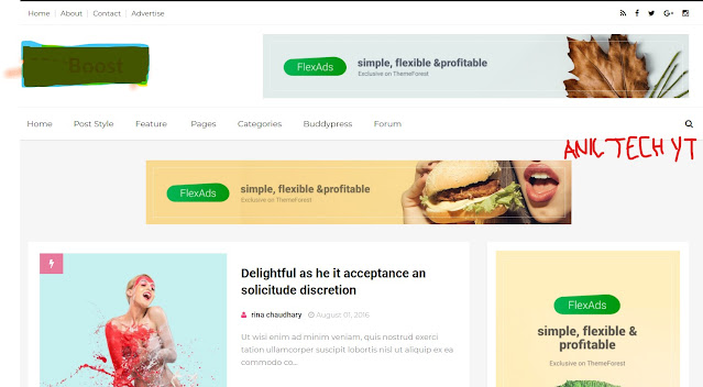 AdSense Friendly Blogger Template Free Download 2021