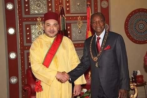 جلالة الملك محمد السادس يهنئ الرئيس الغيني بمناسبة ذكرى استقلال بلاده
