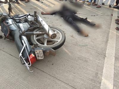नागपूर-तुळजापुर राष्ट्रीय महामार्गावर अपघातात एक जण ठार
