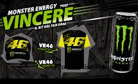 Logo Coca-Cola ''Vinci il Kit con Monster'' : in palio 28 premi VR46