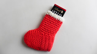 botas crochet calcetines navidad