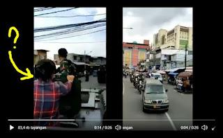 Viral Video Penampakan Perempuan Baju 'Kotak-kotak' Di atas Panser TNI, Siapakah Dia?
