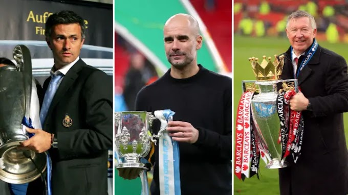 Top 10 Managers With Most Trophies In The 21st Century