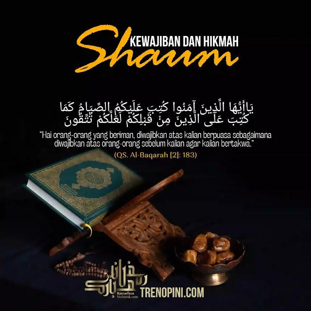 KEWAJIBAN DAN HIKMAH SHAUM