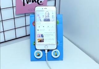 porta smarthone de carton