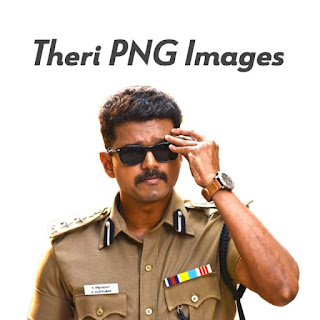 Theri PNG images UHD free download