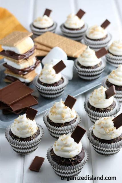 S'mores Cupcake Recipe