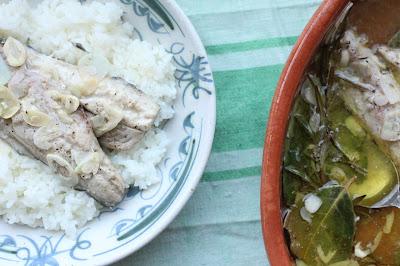 maquerau huile d'olive maison