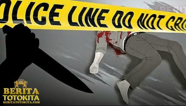 Seorang Pria Nekat Gorok Leher Polisi Menggunakan Pisau