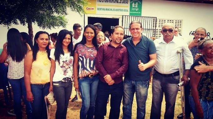 Fábio Gentil anuncia retomada da construção de Creche no Bairro Luíza Queiróz