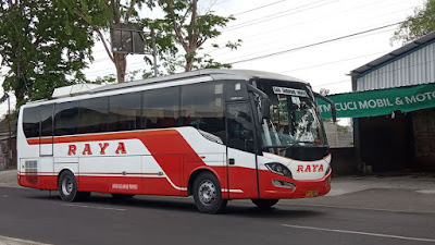 Foto Bus Raya Executive Junior 1 AD 1426 EG