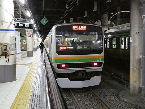【ダイヤ改正で廃止!】高崎・上越線表示の新前橋行きE231系