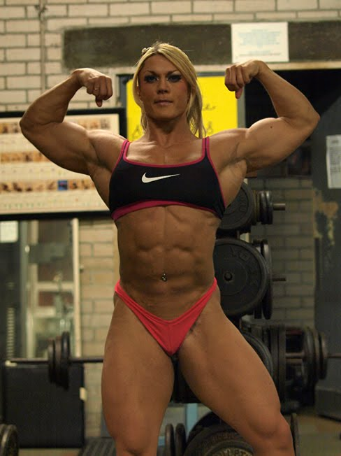 Fighter physique - Lisa cross fbb ...