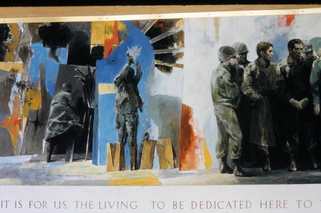 Veterans Service Building St. Paul, MN  Mural by Bernard Arnest