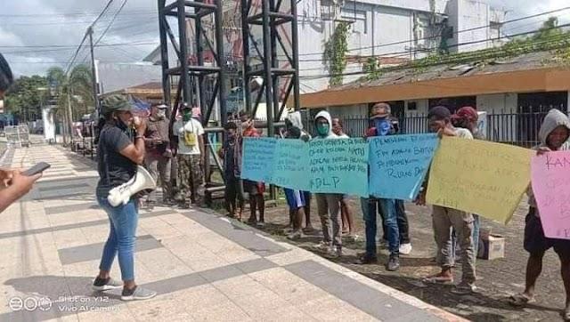 Forum Independen Mahasiswa West Papua ( FIM WP ) Sorong Raya Memperingati Kembali Tragedi Expo Berdarah