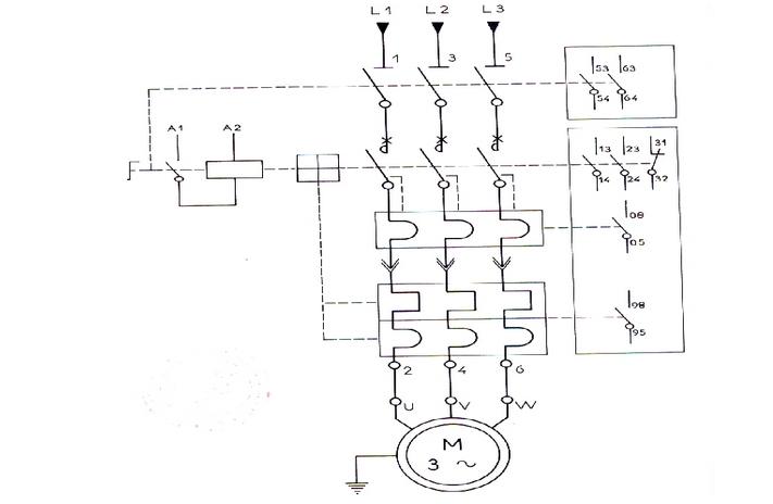 azuma schema moteur electrique triphase