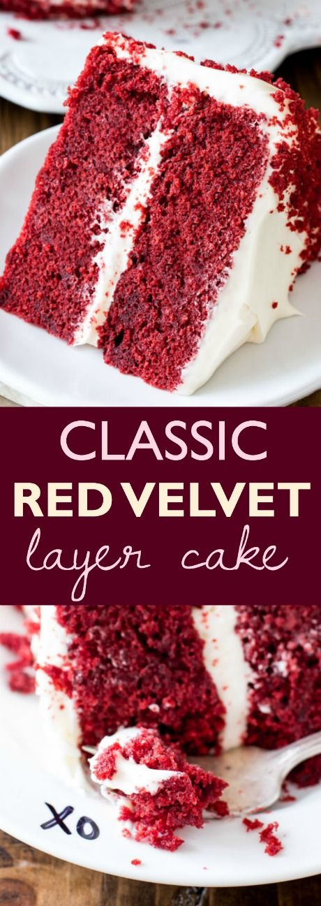 Red velvet cake is much more than vanilla cake tinted red. This recipe produces the best red velvet cake with superior buttery, vanilla, and cocoa flavors, as well as a delicious tang from buttermilk. My trick is to whip the egg whites, which guarantees a smooth velvet crumb.