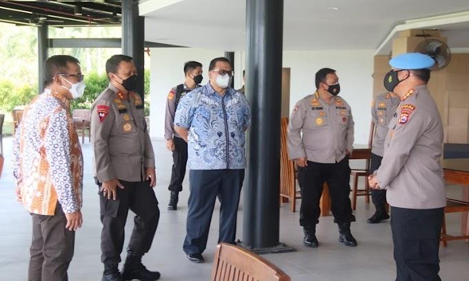 Dukung Manajemen Security, Kapolda Banten Bersama PJU Kunjungi PT Krakatau Sarana Infrastruktur