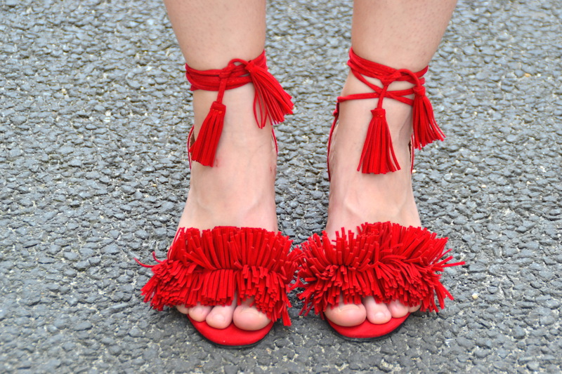 chaussures froufrou like Aquazzura