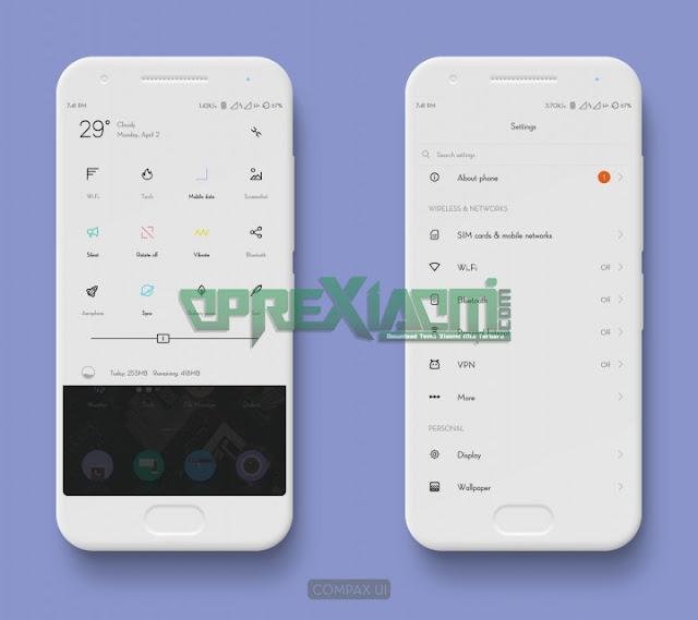 Thema Compax Ui Mtz Update Terbaru Untuk Xiaomi Redmi