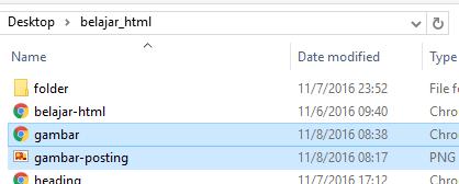Memasukkan Gambar di HTML