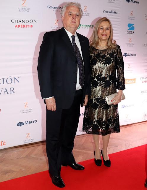 Eduardo Santamarina y María Larraín en la Gala Anual a beneficio de Fundación Zaldivar