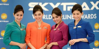 warna seragam pramugari Garuda Indonesia