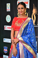 Priya Shree in Beautiful Blue Saree at IIFA Utsavam Awards 2017  Day 2    HD Exclusive Pics 20.JPG