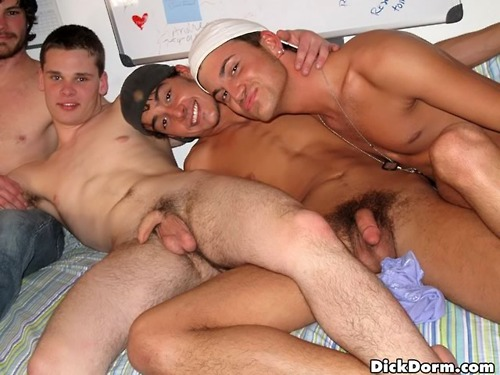 4young college dudes on a school nite 3