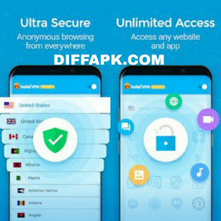 Hola VPN Proxy Plus Apk v1.174.493 Premium