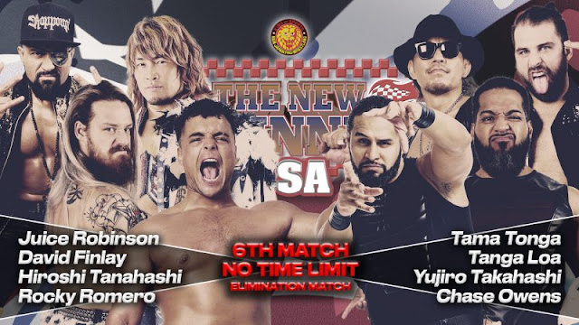 Cobertura: NJPW The New Beginning in USA 2020 – Day 1 – O novo projeto!