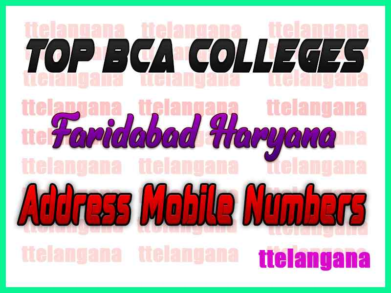 Top BCA Colleges in Faridabad Haryana
