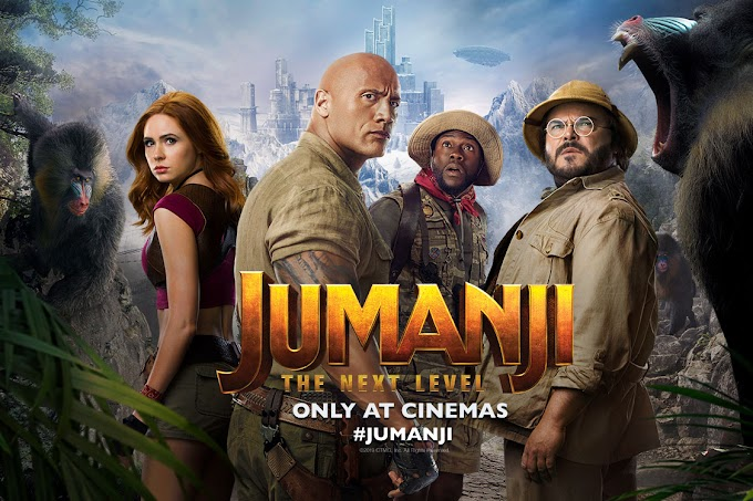 Jumanji 3: The Next Level (2019) | English Movie HD