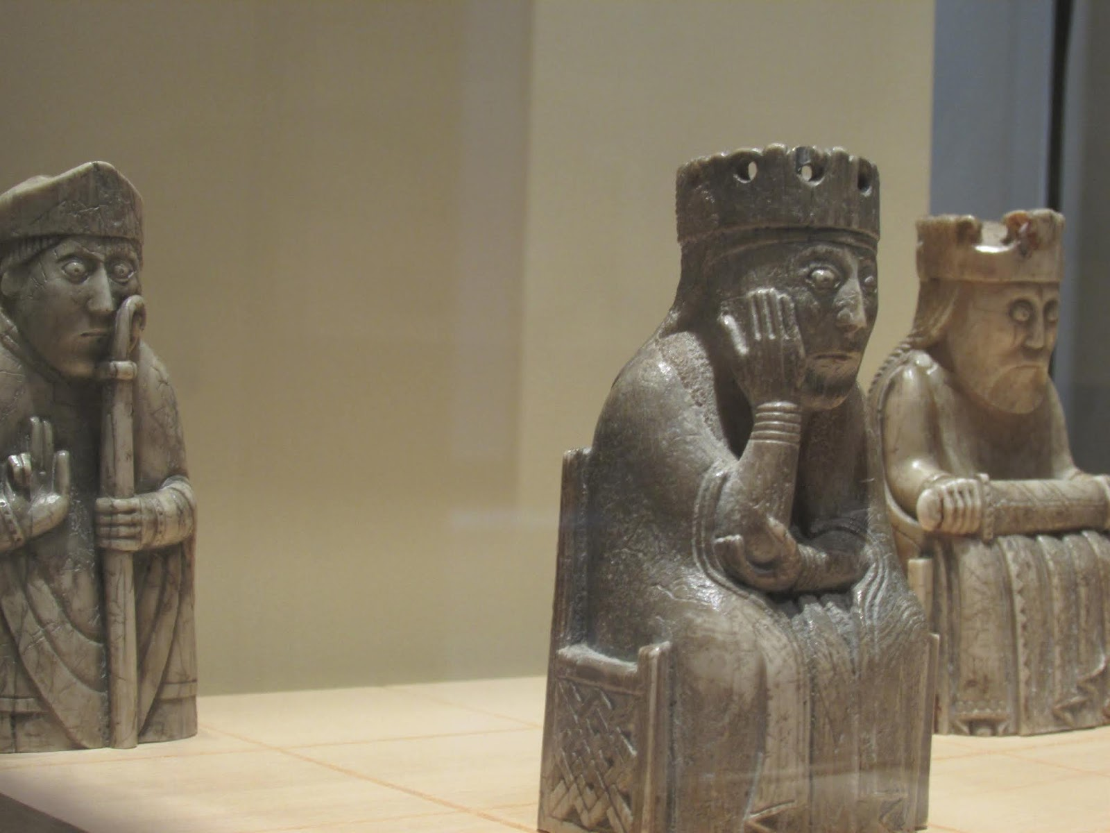 Maggie's City Guide to Edinburgh - Lewis chess men, National Museum of Scotland