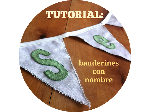 tutorial banderines con nombre