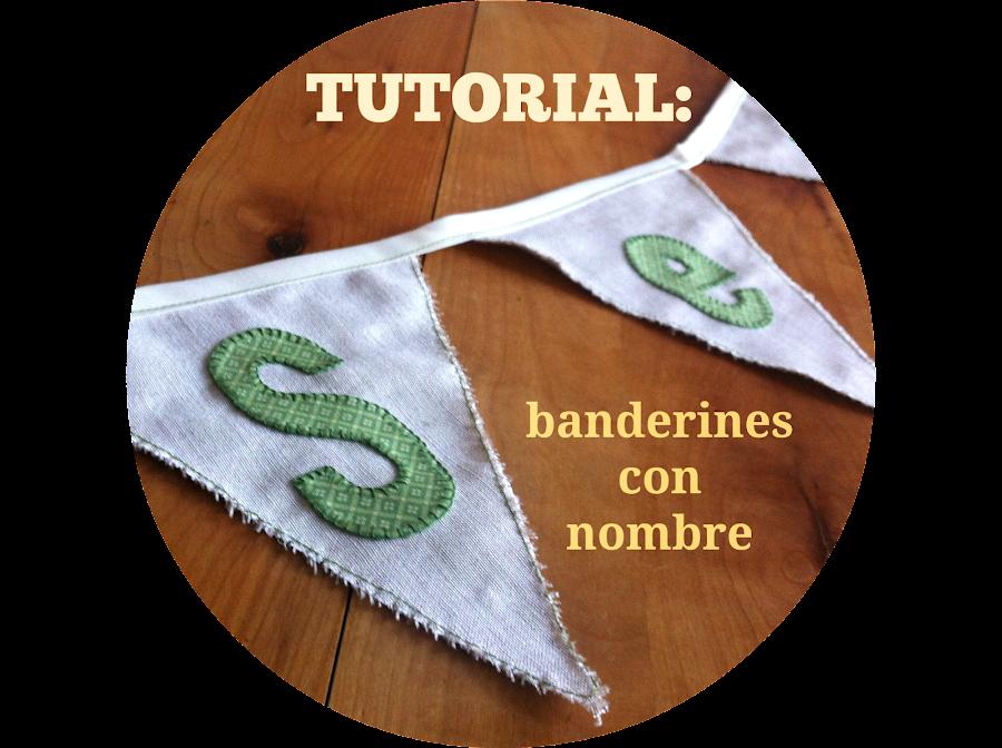 tutorial banderines con nombre