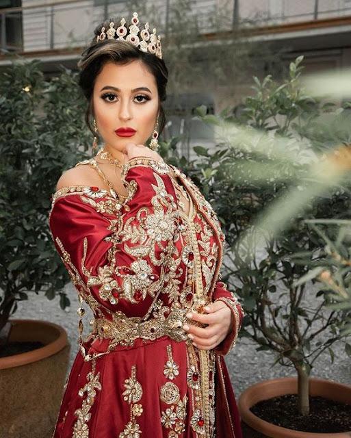caftan rouge mariage 2020 paris