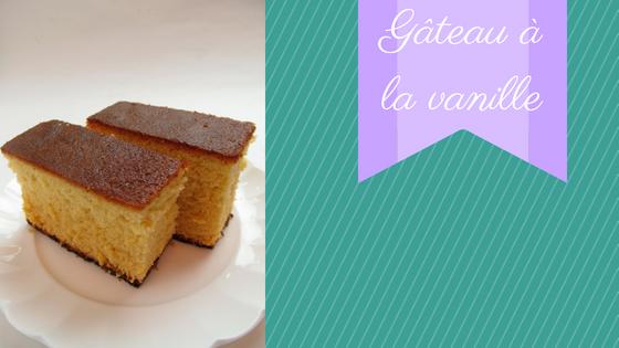 Gâteau de base à la vanille