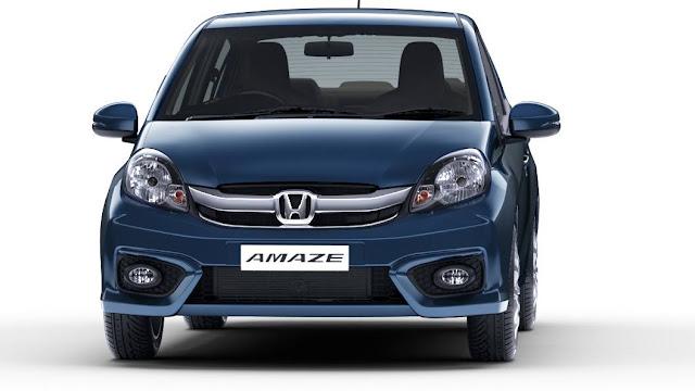 Honda Amaze front view hd wallpaper
