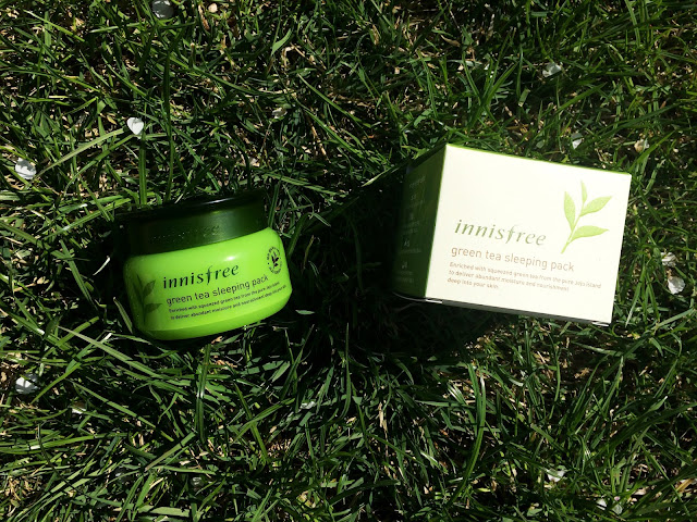 ejszakai Hidratalas - Innisfree Green Tea Sleeping Pack
