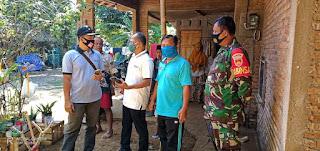 Bersinergi Bersama Pemerintah Desa Sosialisasi pencegahan penyebaran covid-19