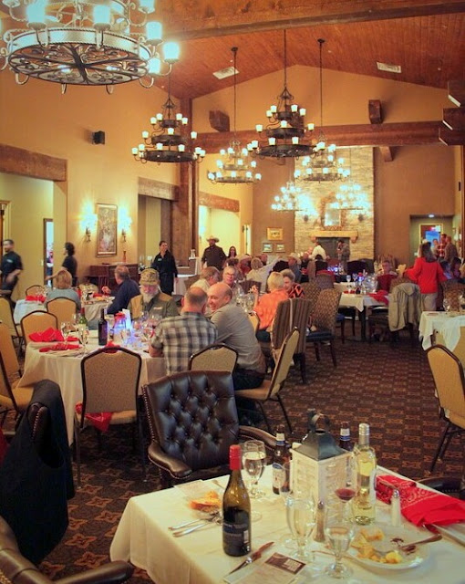 You'll love the grand dining experience at the Angel Fire resort.