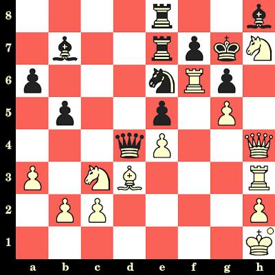 Les Blancs jouent et matent en 4 coups - Liong-On Choong vs Lawrence Day, Skopje, 1972
