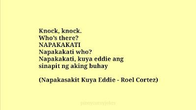 Napapakati pinoy corny knock knock jokes 2021
