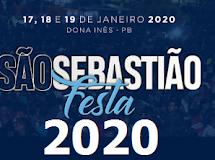 DONA INÊS/PB: Confira as atrações da Festa de São Sebastião 2020