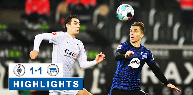 Borussia M'gladbach vs Hertha BSC – Highlights