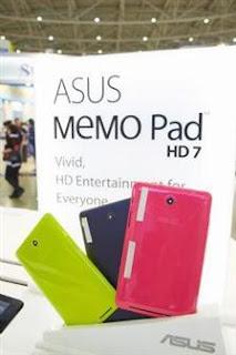 Spesifikasi Asus MeMO Pad 7 HD (8GB)